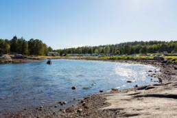 Bilde av Fjærholmen strand - Photo: Strobe Foto