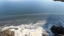 utslipp - hentet fra facebook: Færder Nasjonalpark