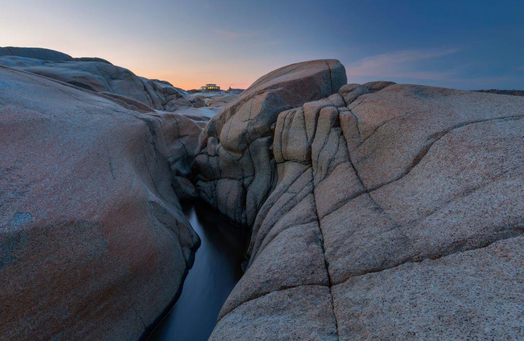 Bilde av Nasjonalparksenteret på Verdens Ende - Photo: Vidar Moløkken / frittfallfoto.no