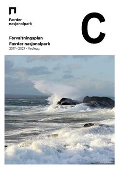 Forvaltningsplan Færder nasjonalpark - 2017 - 2027 - Vedlegg del C