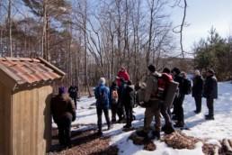 Bilde av en gruppe mennesker på omvisning