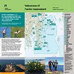 Østre Bolæren hovedskilt Færder nasjonalpark