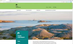 Screenshot av norges nasjonalparker